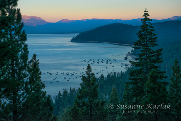 Evening View of Rubicon Bay, Lake Tahoe #3633.2