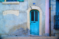 Le Puy en Velay; The Blue Door