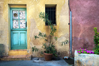 Roussillon;  Wall and Plant