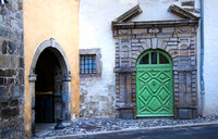 Le Puy en Velay; The Green Door