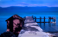Pier at Sugar Pine State Park, Lake Tahoe #7644