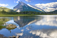 Mt. Rundle Reflected #243