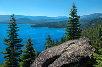 Lake View from Rubicon Trail, Bliss State Park, Tahoe #4765